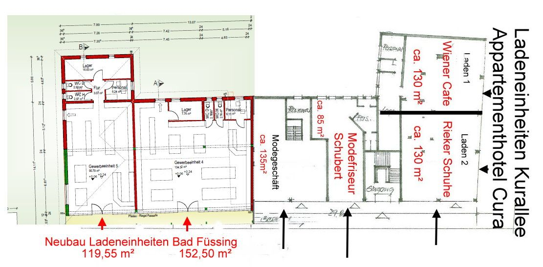 Plan Neubau Bad Füssing Cura