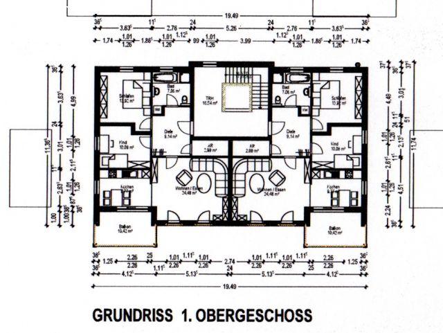 Stock; Grundriss 2.