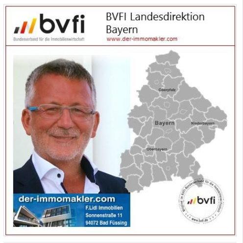 Immobilienmakler Dingolfing auszeichnungen landesdirektor bayern bvfi
